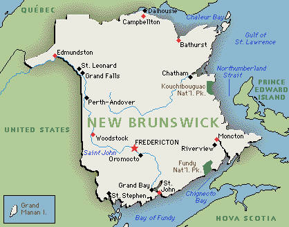 an overview of the maritime province of new brunswick New brunswick travel guide overview  but that's just another facet of new brunswick's charm the province is an  the biggest of canada's three maritime.